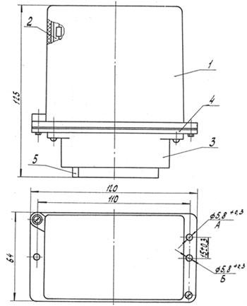 размеры блоков БДУ-4-3