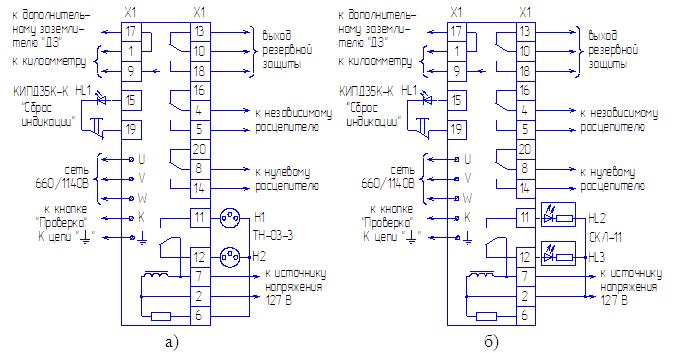 Рисунок 3 – Схема внешних