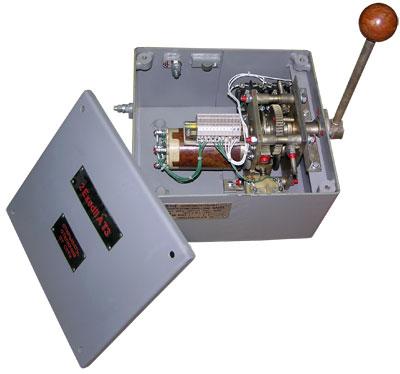 Устройство командоаппарата потенциометрического типа КАПВ