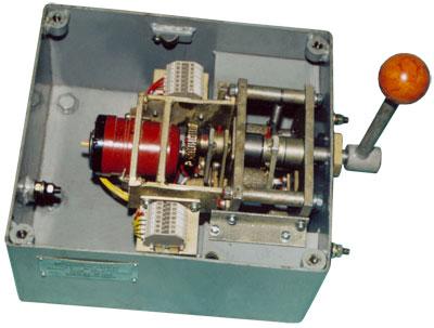 Устройство командоаппарата сельсинного типа СКАВ-БУ